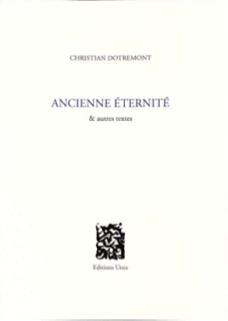 PARUTION Christian Dotrement